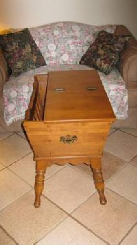 200 ethan allen hard rock maple end table for sale in