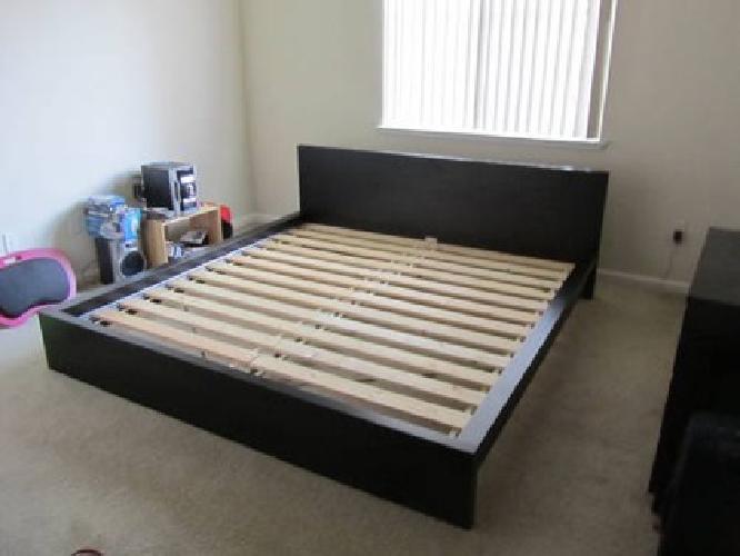 King Size Slat Bed Frame