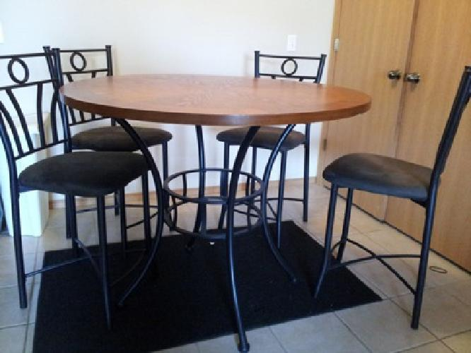 200 obo 5 piece pub set dining table for sale in for 5 piece dining set under 200