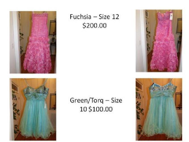 $200 OBO Prom Dresses