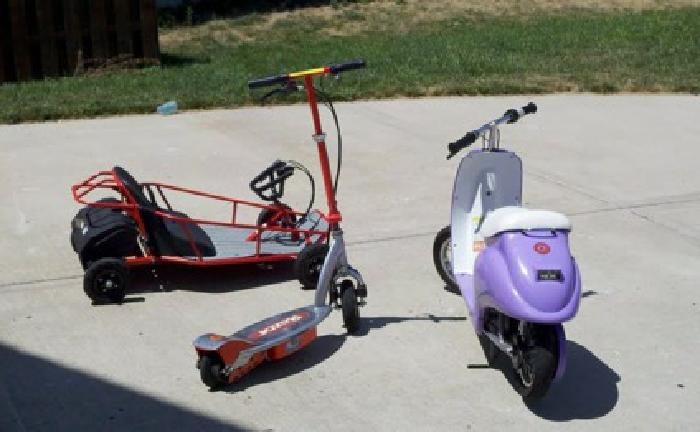 200 Obo Razor Ground Force Electric Dune Buggy For Sale