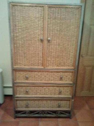 $200 TV ARMOIRE Wicker TV Armoire Pier 1 Collection This ...