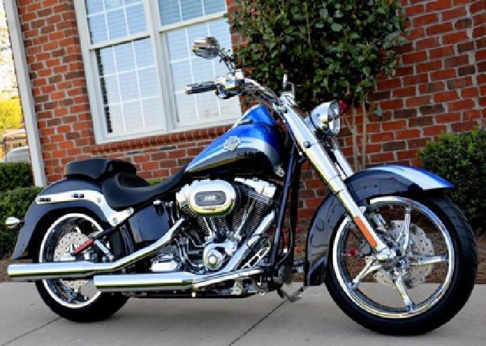 2010 Harley Davidson Screamin Eagle CVO Convertiable SOFTAIL