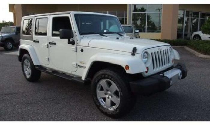2010 jeep wrangler unlimited sahara for sale in jacksonville florida classified. Black Bedroom Furniture Sets. Home Design Ideas