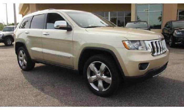 2011 jeep grand cherokee overland for sale in jacksonville florida classified. Black Bedroom Furniture Sets. Home Design Ideas