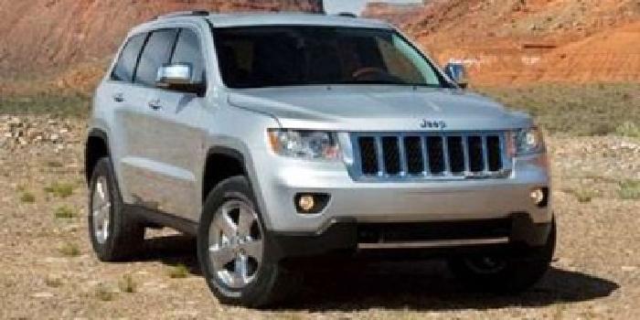 2011 Jeep Grand Cherokee Overland Sport Utility 4D