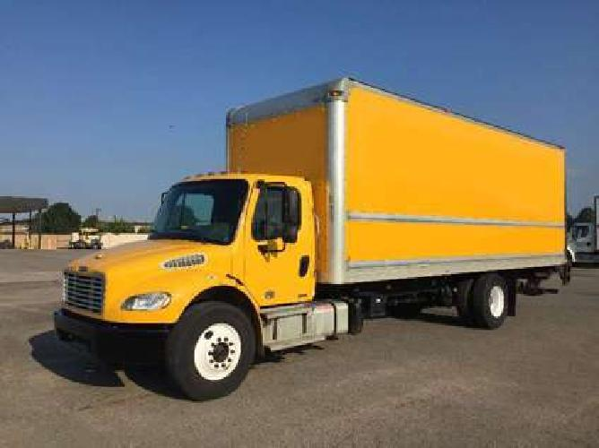 2012 Freightliner M2-106 26 ft Box Truck for Sale Florida