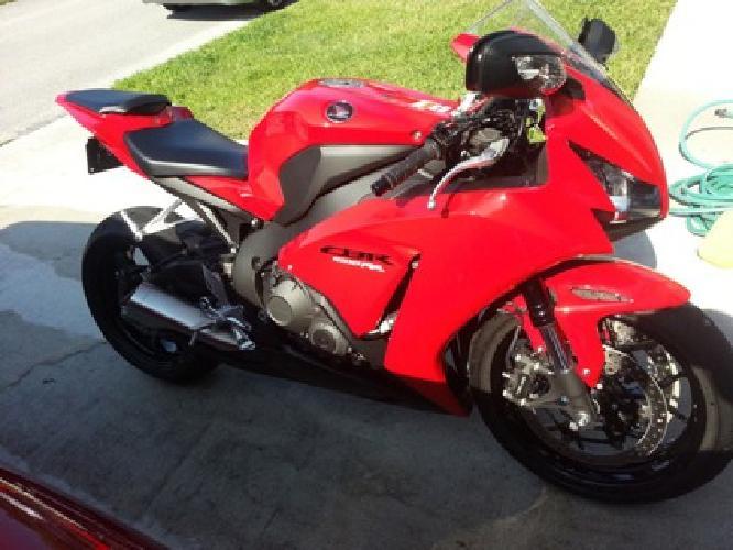 2012 Honda CBR 1000RR 20thanniversary edition