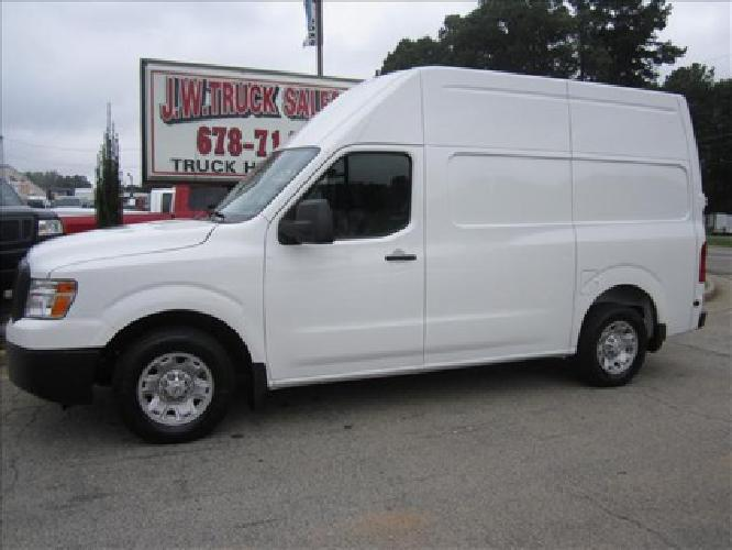 2012 nissan nv high roof 2500hd v8 s for sale in sugar hill georgia classified. Black Bedroom Furniture Sets. Home Design Ideas