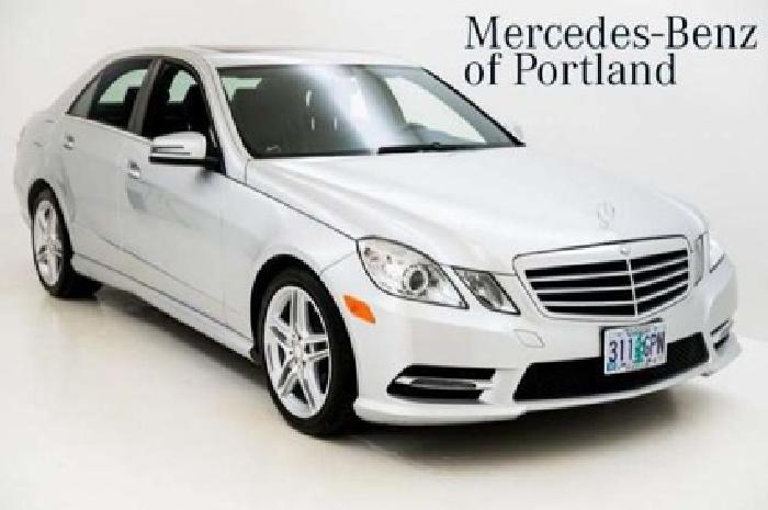 2013 mercedes benz e class e350 4dr rear wheel drive sedan for Mercedes benz portland or