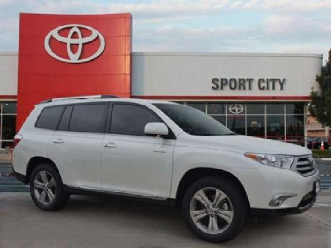 2013 toyota highlander limited for sale in dallas texas classified. Black Bedroom Furniture Sets. Home Design Ideas