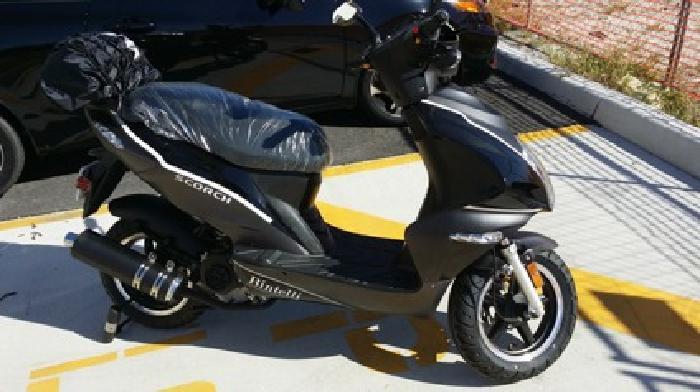 2014 Bintelli Scorch 49cc Moped
