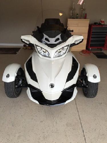 2014 Can Am Spyder RT SE6