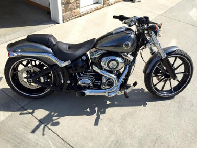 Softail For Sale Buffalo Ny >> 2014 Harley Davidson Softail Breakout Hard Kandy Chrome Exhaust for sale in Albany, New York ...