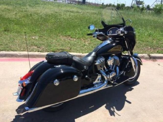 2014 Indian Chieftain Touring Motorcycle