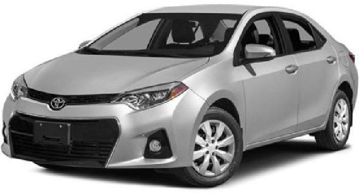 2014 Toyota Corolla 4dr Sdn CVT S Plus