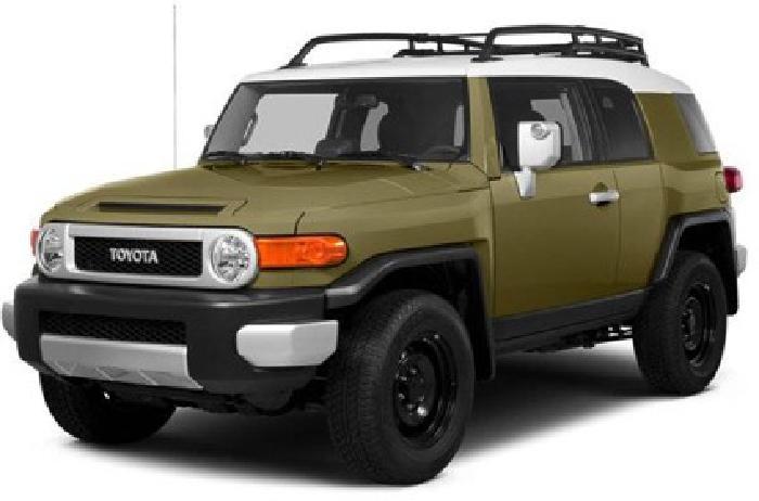 2014 Toyota FJ Cruiser 4WD 4dr Auto