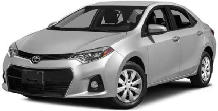 2015 Toyota Corolla 4dr Sdn CVT S Plus