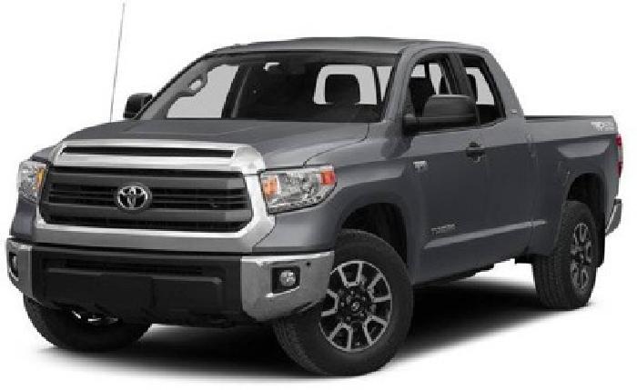 2015 Toyota Tundra Double Cab 5.7L V8 6-Spd AT LTD