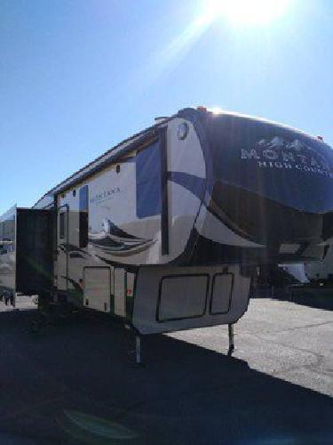 2017 Montana high country 352RL 5th wheel