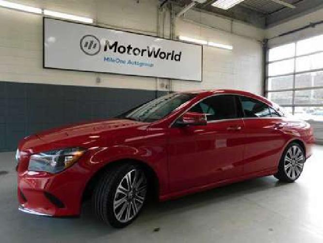 2018 Mercedes-Benz CLA 4MATIC