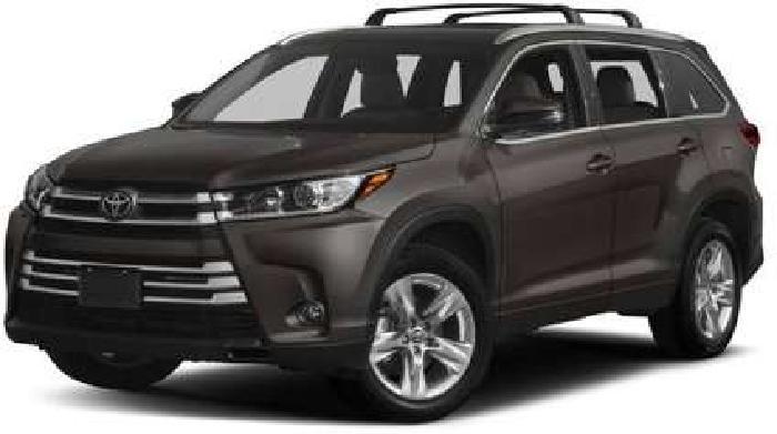2018 Toyota Highlander Limited Platinum V6 AWD