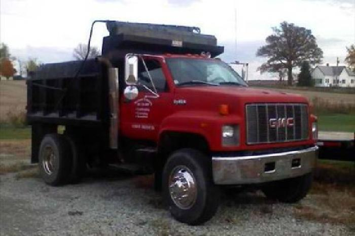 20 000 1997 gmc top kick dump truck for sale in new castle indiana classified. Black Bedroom Furniture Sets. Home Design Ideas