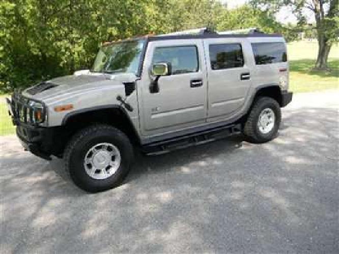 $20,800 Used 2004 HUMMER H2 LUXURY AWD SUV, 91,000 miles