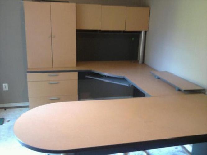 $20 costco home office type desk u shaped= E GET IT