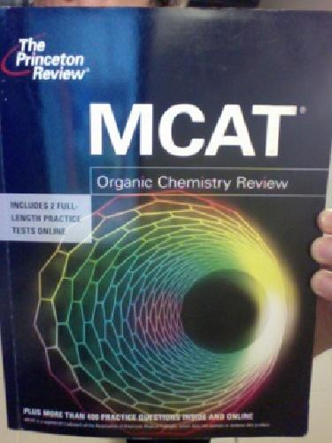 $20 OBO Princeton Review MCAT Organic Chemistry Review