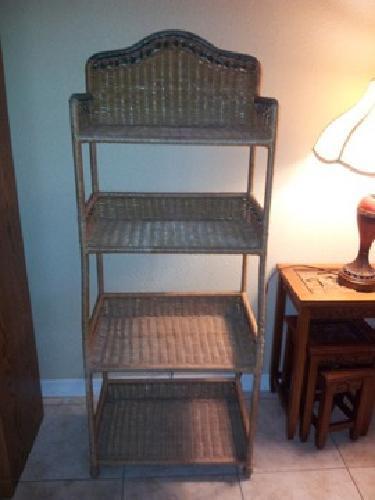 $20 OBO Wicker Shelf