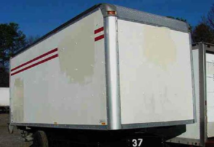 20' used truck body