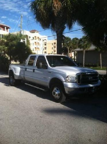 21 000 2005 Ford F350 4x4 Lairet Crew Cab Dually For Sale