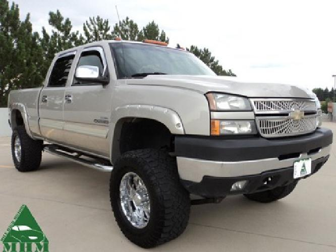 $21,000 2006 Chevrolet 2500 HD Crew Cab Duramax Diesel LT Leather Sunroof Allison DVD