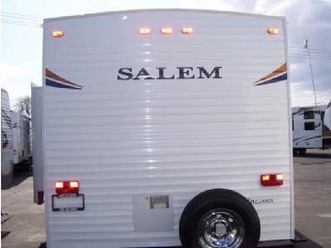 21 500 2012 Salem 28ddss Travel Trailer For Sale In