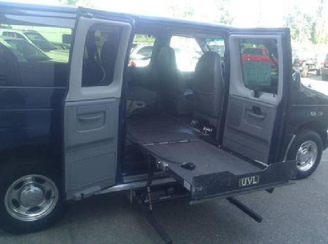 21 988 2007 ford e150 wheelchair mobility van only for Handicap mobile homes for sale