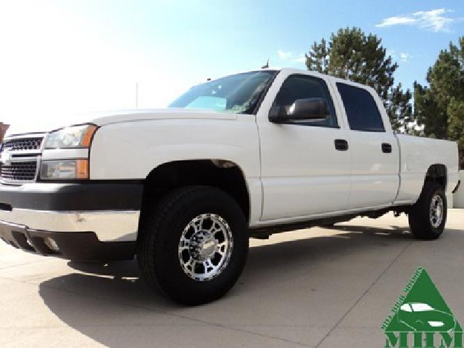 $21,995 OBO 2005 Chevrolet Silverado 2500HD Crew Cab LT DURAMAX DIESEL 4x4 2500