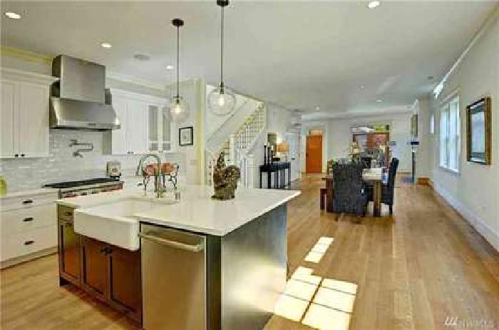 2215 3rd Ave W Seattle Four BR, A fantastic new home on top of