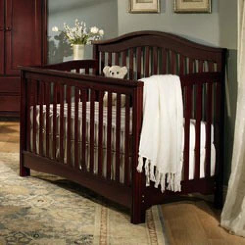 225 bonavita crib w all conversion kits to full and for Bonavita nursery furniture
