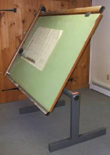 225 Drafting Table With Vemco V Track Drafting Machine For Sale In Nashua New Hampshire