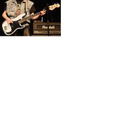 $225 OBO Fender P-Bass Light Blue with Black Pick Guard