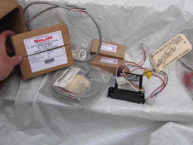 225 whelen cs220 strobe light kit 2 strobes power pack. Black Bedroom Furniture Sets. Home Design Ideas