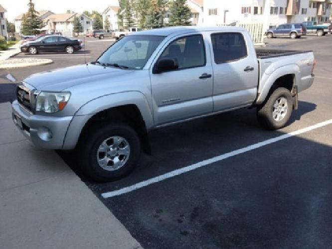 22 500 Obo 06 Toyota Tacoma For Sale In Bozeman Montana