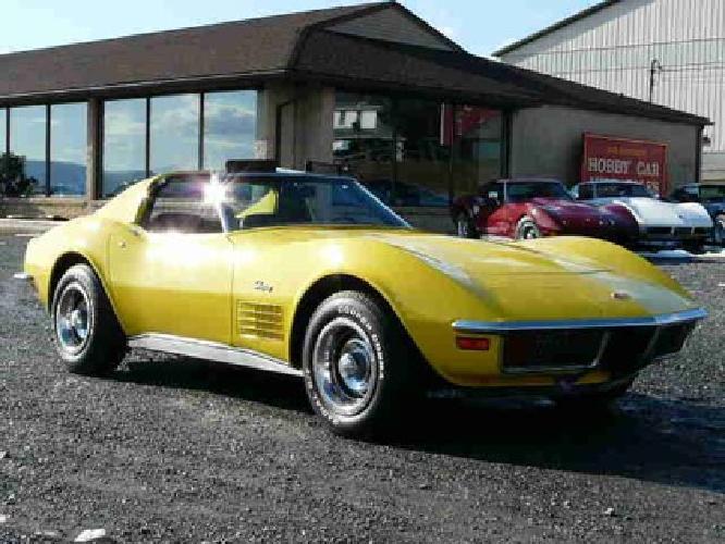 $22,999 1972 Chevrolet Corvette