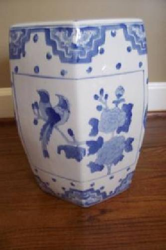22 Chinese Blue White Garden Stool For Sale In