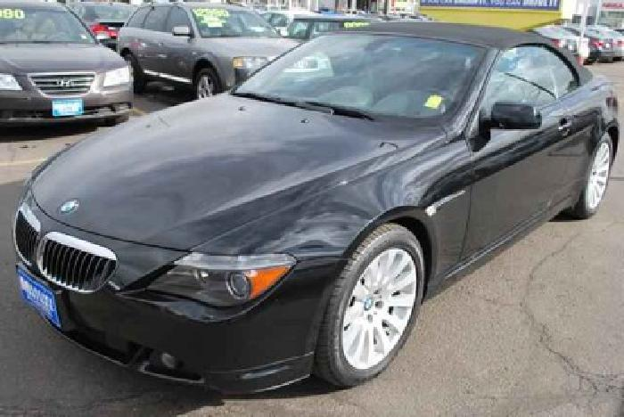 $23,990 Used 2004 BMW 6-Series for sale.