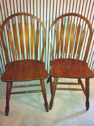 240 obo 6 solid oak dining room chairs for sale in