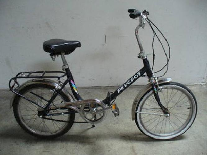 $240 peugeot brand two folding bikes for sale in rancho cordova