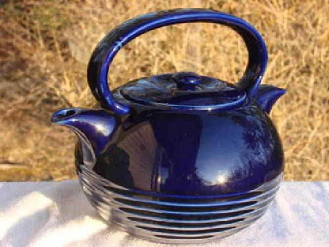 $249 Rare Vintage Hall TwinSpout Teamaster, in Cobalt