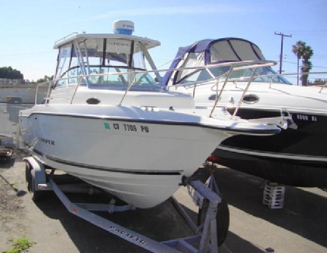 24 000 2001 seaswirl 2600 wa striper used fishing boat for Used fishing boats for sale in california